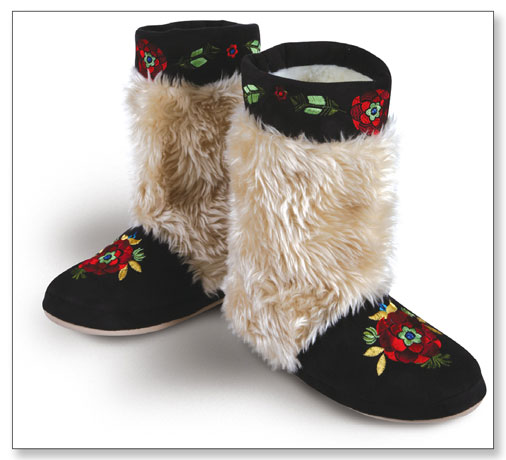 Russian Slipper Boots
