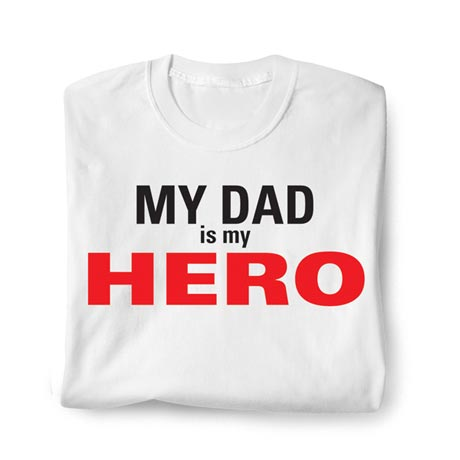 Personalized Hero Shirt