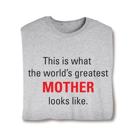 Personalized World's Greatest Shirt
