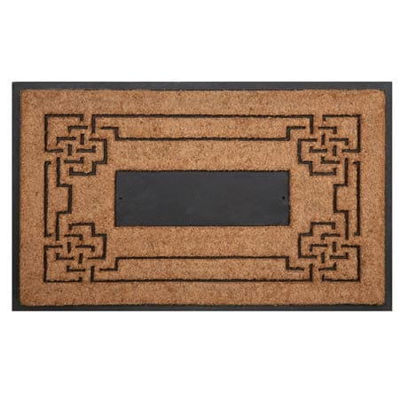 Personalized Coir Doormat