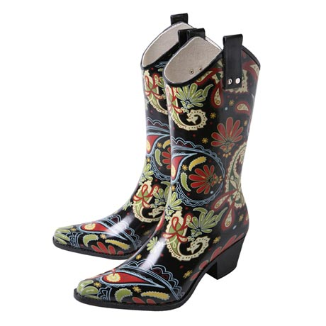 Rain Boots Cowboy Style - All About Boots
