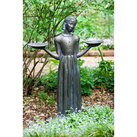 Savannah's Bird Girl 24-inch Statue Without Pedestal