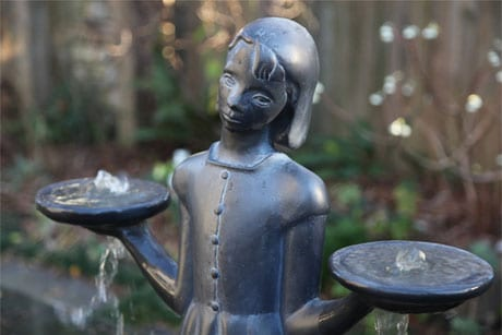Savannah's Bird Girl (Large Fountain)