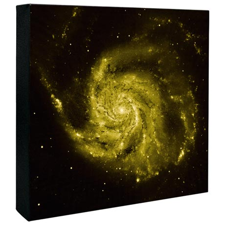 Hubble Image Canvas Print: Composite Image