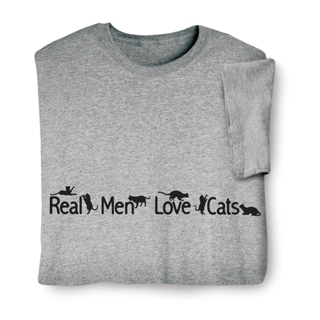 Real Men Love Cats Shirts