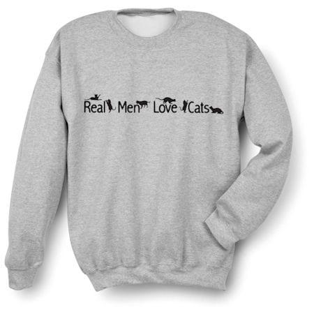 Real Men Love Cats Shirts