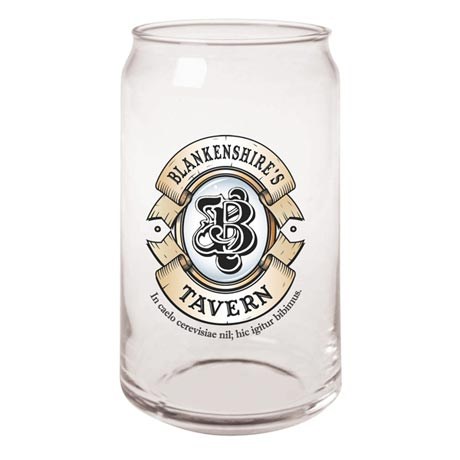 Personalized Beer Glasses - Beer Can Glasses