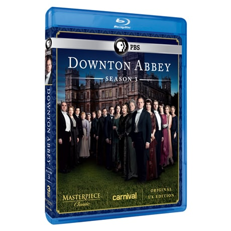 Downton Abbey: Season 3 Blu-ray