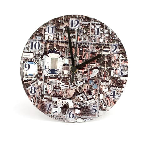 """Personalized Hometown Map Clock - 12"""""""