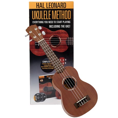 Hal Leonard Ukulele Method Kit with CD & DVD