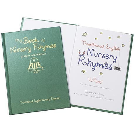 Personalized Children's Books - Traditional English Nursery Rhymes