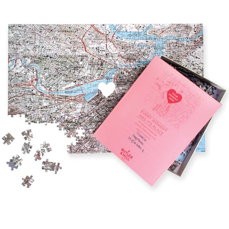 Personalized 'Where We Met' Puzzle