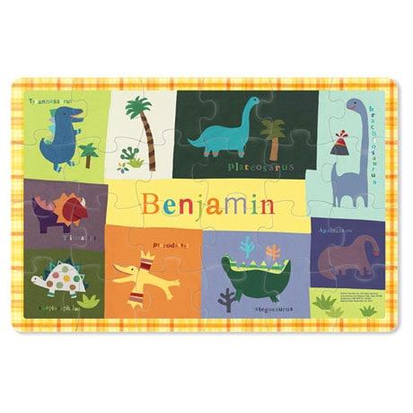 Personalized Puzzles - Dino-Mite