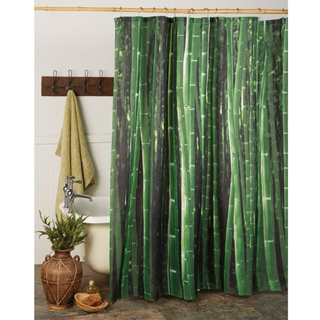 Styles 2014 Bamboo Shower Curtain
