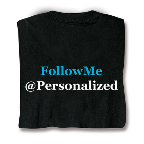Personalized Follow Me Shirts