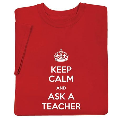 """Personalized  """"Keep Calm """" Shirts"""