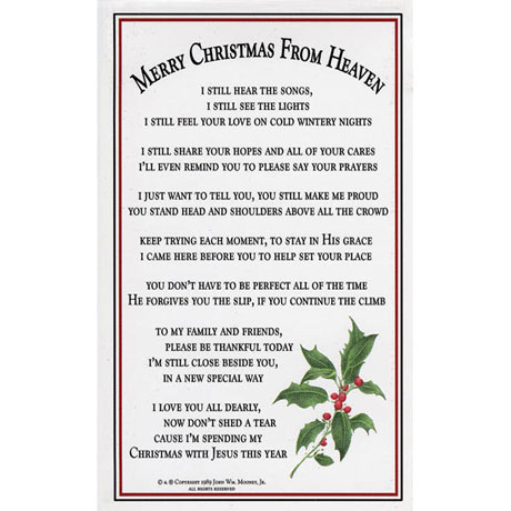 Merry Christmas from Heaven® - Pewter Oval Ornament With Engraving