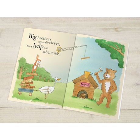 Personalized Big Brothers Are Great Books