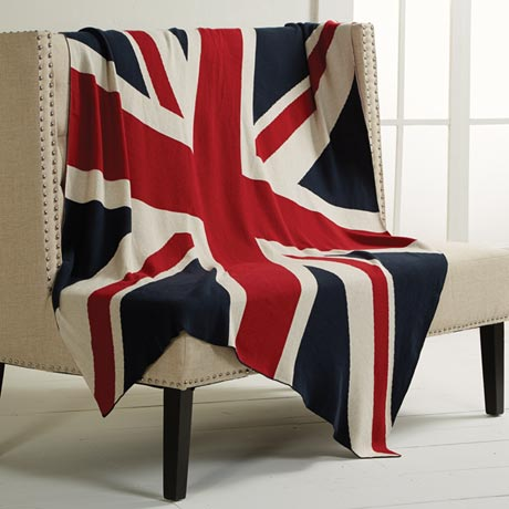 Union Jack Throw