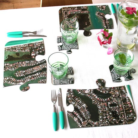 Personalized Hometown Placemats