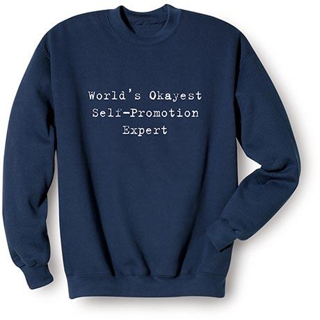 Personalized World's Okayest Shirts