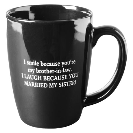 I Smile Because Brother-In-Law Mugs