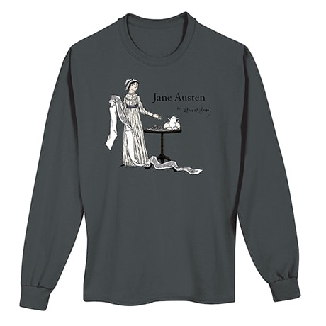 Jane Austen by Edward Gorey Long-Sleeve T-Shirt