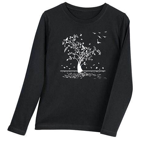 Falling Leaves Long-Sleeve T-Shirt