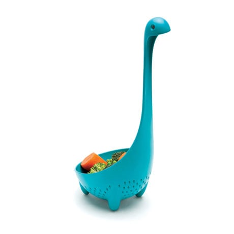 Nessie the Loch Ness Monster Ladles (Original and Mama Colander)