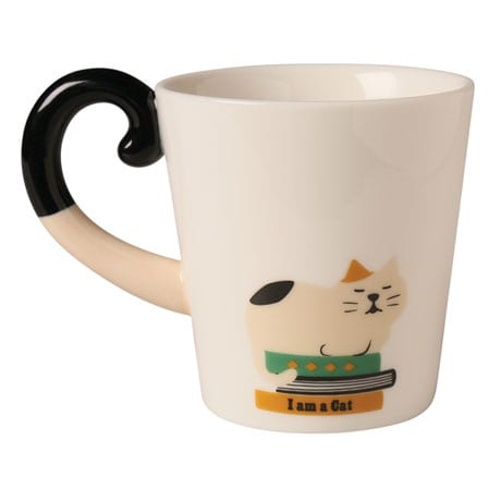 Cat Tail Mugs - Calico Cat