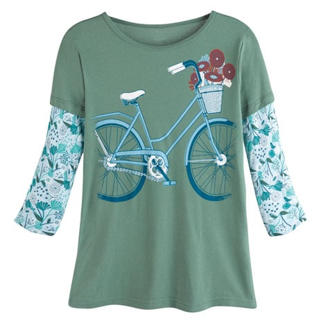 Bicycle Organic T-Shirt