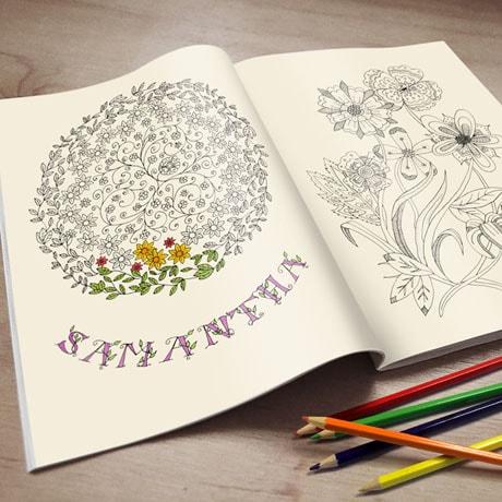 Personalized Creative Coloring Books