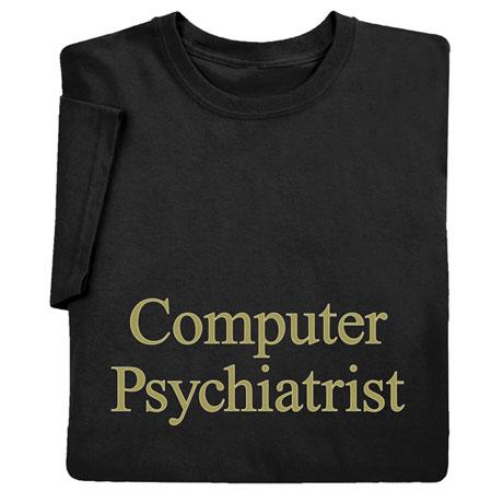 Computer Psychiatrist Sweatshirt