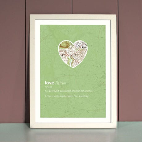 Personalized Love Definition Print