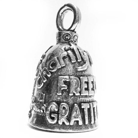 Guardian Bell Pewter Keychain