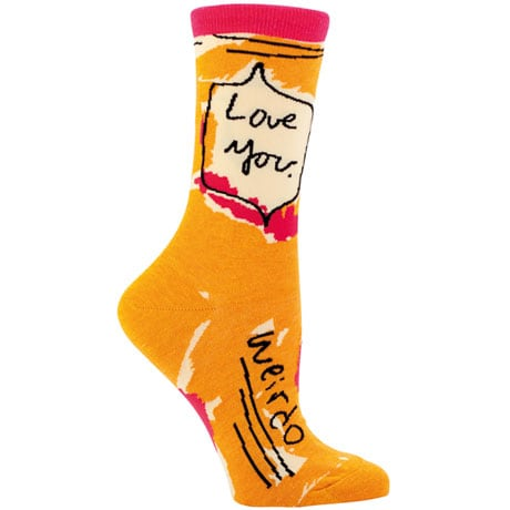 Sassy Socks - Love You Weirdo