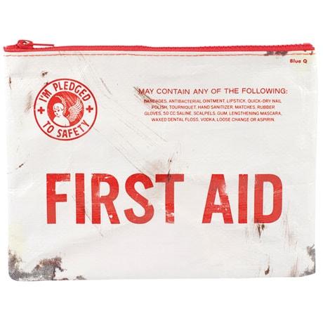 First Aid Zipper Pouch