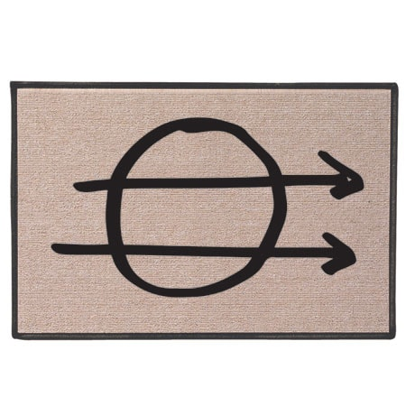 Hobo Code Doormats - Hit the Road