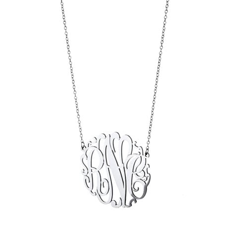 Personalized Monogram Necklace (3 letters)
