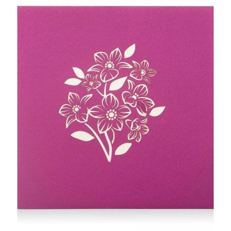 Floral Bouquet Lovepop Greeting Card