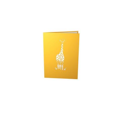 Giraffe Family Lovepop Greeting Card