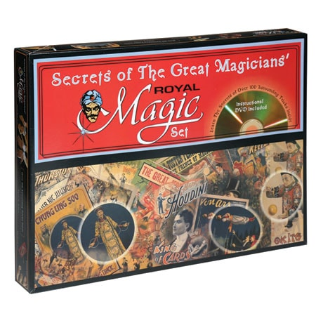 Secrets of the Great Magicians Royal Magic Set