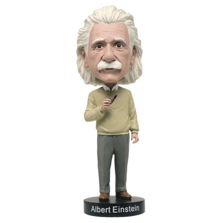 Bobbleheads for Brainiacs: Einstein