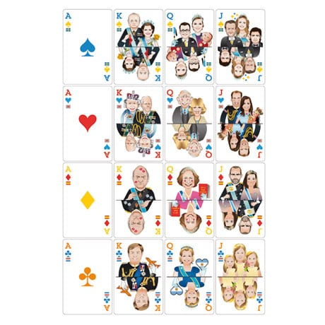 Royal Flush Card Decks Set