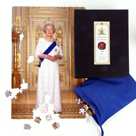 Limited Edition Queen Elizabeth II Official 90th Birthday Puzzle