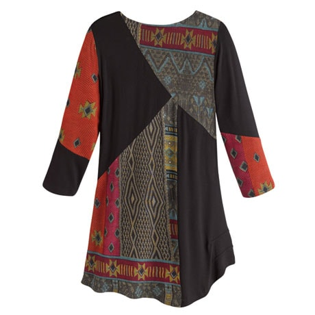 Tapestry Print Tunic