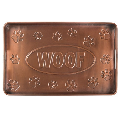Woof Copper Finish Multi-Purpose Tray