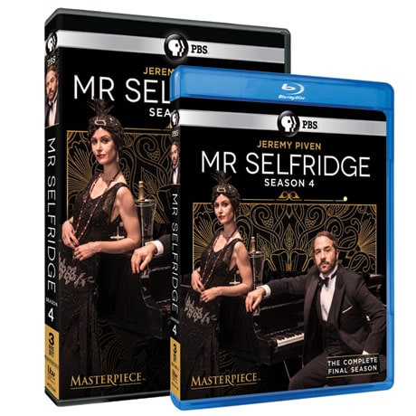 Mr. Selfridge Seasons 1-4 - DVD & Blu-Ray