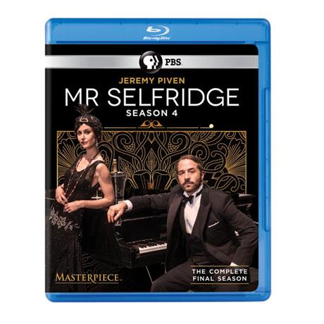Mr. Selfridge Season 4 DVD or Blu-ray - The Final Season - shipping May 17, 2016