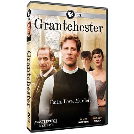 Grantchester Season 1 DVD or Blu-ray
